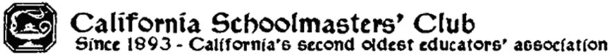 California Schoolmasters' Club Logo